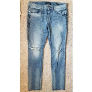 Pacsun stacked skinny 32 distressed jeans
